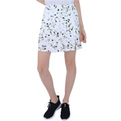 Square Motif Abstract Geometric Pattern Tennis Skirt by dflcprintsclothing