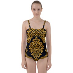 Finesse  Twist Front Tankini Set by Sobalvarro