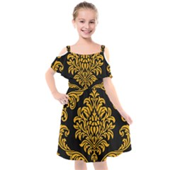 Finesse  Kids  Cut Out Shoulders Chiffon Dress by Sobalvarro