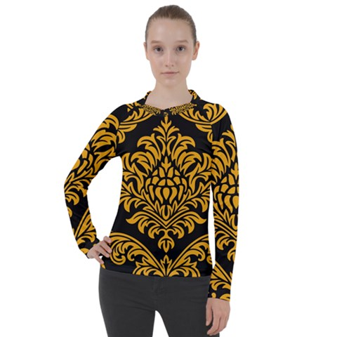 Finesse  Women s Pique Long Sleeve Tee by Sobalvarro