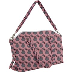 Cats Canvas Crossbody Bag