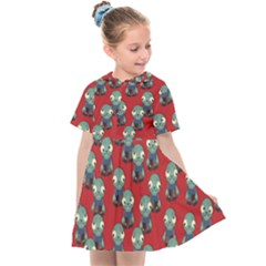 Zombie Virus Kids  Sailor Dress