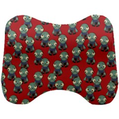 Zombie Virus Head Support Cushion