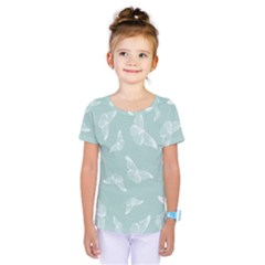 Illustrations Butterfly Pattern Kids  One Piece Tee