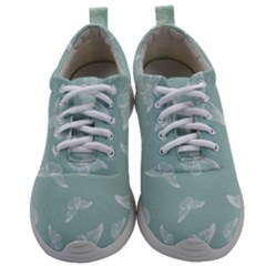 Illustrations Butterfly Pattern Mens Athletic Shoes