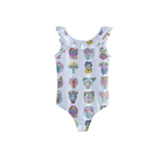 Female Reproductive System  Kids  Frill Swimsuit by ArtByAng