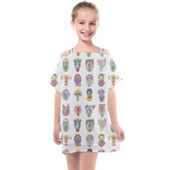Female Reproductive System  Kids  One Piece Chiffon Dress