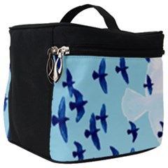 Illustrations Birds Flying Make Up Travel Bag (big)