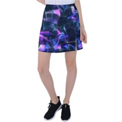 Abstract Atom Background Tennis Skirt