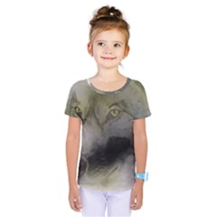 Wolf Evil Monster Kids  One Piece Tee