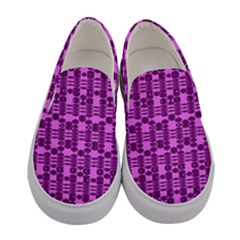 Digital Violet Women s Canvas Slip Ons
