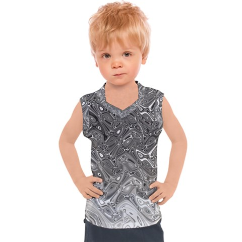 Grey Glow Cartisia Kids  Sport Tank Top by Sparkle