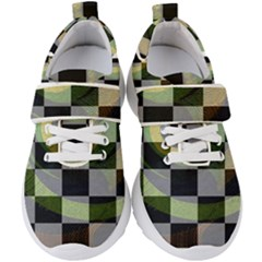 Circle Checks Kids  Velcro Strap Shoes