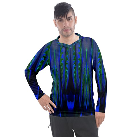 Glowleafs Men s Pique Long Sleeve Tee by Sparkle