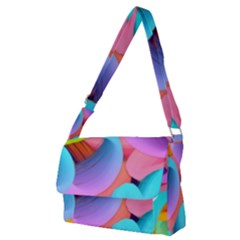 3d Color Swings Full Print Messenger Bag (m)