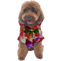Poppy Flower Dog Coat by Sparkle