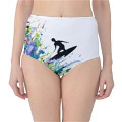 Nature Surfing Classic High-waist Bikini Bottoms by Sparkle