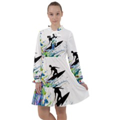 Nature Surfing All Frills Chiffon Dress