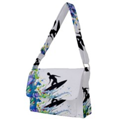 Nature Surfing Full Print Messenger Bag (l)