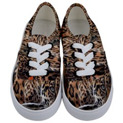 Nature With Tiger Kids  Classic Low Top Sneakers