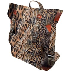 Nature With Tiger Buckle Up Backpack
