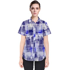 Blockify Women s Short Sleeve Shirt
