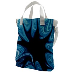 Sea Wrap Canvas Messenger Bag