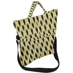 Mirrors Fold Over Handle Tote Bag