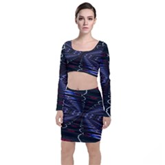 Digital Room Top And Skirt Sets
