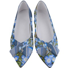 Floral Nature Women s Bow Heels