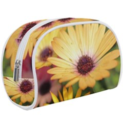 Yellow Flowers Makeup Case (large) by Sparkle