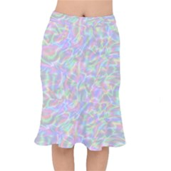 Pinkhalo Short Mermaid Skirt by designsbyamerianna