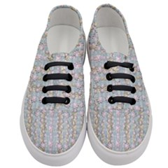 Summer Florals In The Sea Pond Decorative Women s Classic Low Top Sneakers
