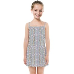 Summer Florals In The Sea Pond Decorative Kids  Summer Sun Dress