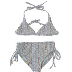Summer Florals In The Sea Pond Decorative Kids  Classic Bikini Set