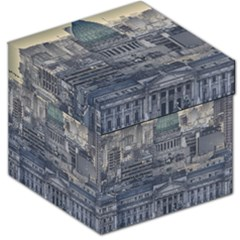 Buenos Aires Argentina Cityscape Aerial View Storage Stool 12