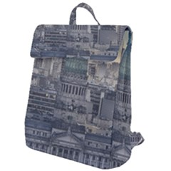 Buenos Aires Argentina Cityscape Aerial View Flap Top Backpack