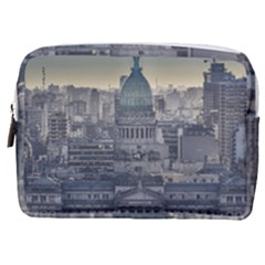 Buenos Aires Argentina Cityscape Aerial View Make Up Pouch (medium)