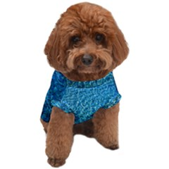 Turquoise Blue Ocean Dog T-Shirt