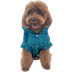 Turquoise Blue Ocean Dog Coat