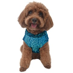 Turquoise Blue Ocean Dog Sweater