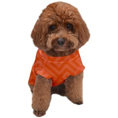 Orange Maze Dog T-Shirt