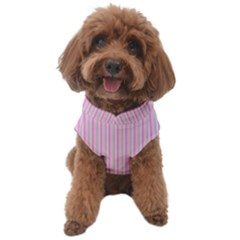 Pink Stripes Vertical  Dog Sweater by retrotoomoderndesigns