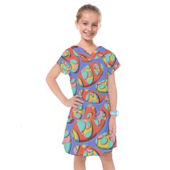 The Right Work Kids  Drop Waist Dress