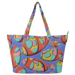 Urban Design  Full Print Shoulder Bag