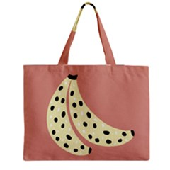 Fruit Banana Tree Healthy Zipper Medium Tote Bag