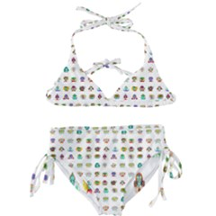 All The Aliens Teeny Kids  Classic Bikini Set