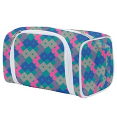 Geo Puzzle Toiletries Pouch