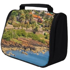 Punta Colorada Aerial Landscape Scene, Uruguay Full Print Travel Pouch (big)
