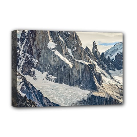 Cerro Torre, Glacier National Park, Argentina Deluxe Canvas 18  X 12  (stretched)